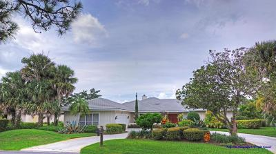 Stuart Single Family Home For Sale: 6210 SE Winged Foot Drive