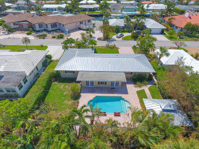 Singer Island Single Family Home For Sale: 1110 Morse Boulevard