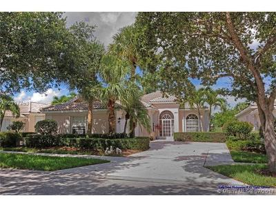 Hobe Sound Single Family Home For Sale: 8316 SE Palm Hammock Lane
