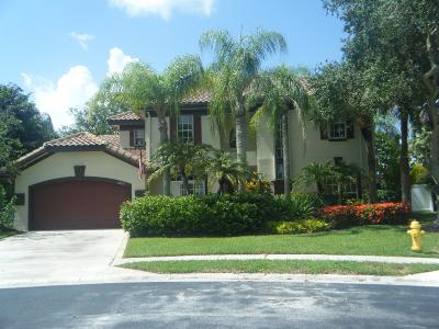 Palm Beach Gardens Single Family Home For Sale: 12771 Marsh Pointe Way