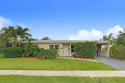 Broward County, Palm Beach County Single Family Home For Sale: 508 Lighthouse Drive