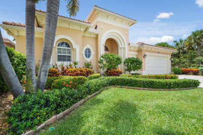 Palm Beach Gardens Single Family Home For Sale: 740 Cote Azur Drive