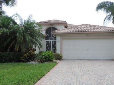 Boynton Beach Single Family Home For Sale: 11285 Deleon Circle