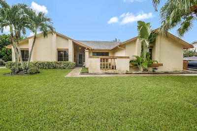 Boca Raton Single Family Home For Sale: 10412 S 178th Court