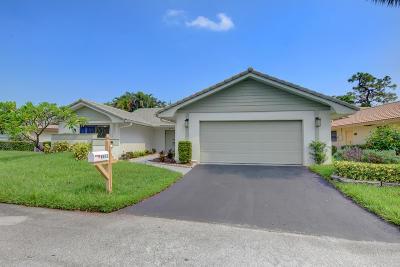 Boca Raton Single Family Home For Sale: 6912 Villas Drive W