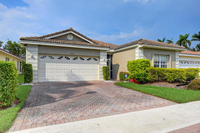 Boynton Beach Single Family Home For Sale: 7667 Lemonwood Street