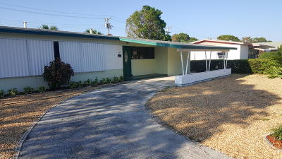 West Palm Beach Single Family Home For Sale: 1328 Palm Beach Lakes Boulevard