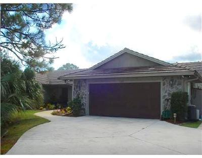 Jensen Beach FL Single Family Home Closed: $520,000