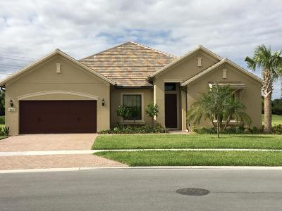 Wellington Single Family Home For Sale: 4023 Siena Circle