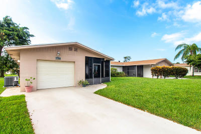 Delray Beach Single Family Home For Sale: 6072 Via Silvanus #A