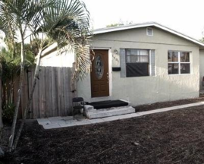 West Palm Beach FL Single Family Home For Sale: $110,000