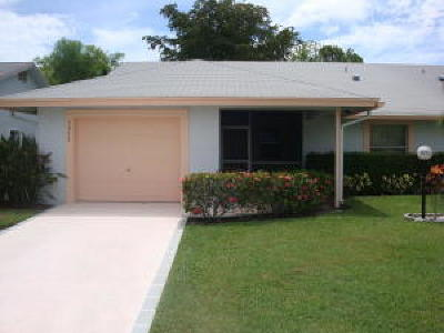 West Palm Beach Single Family Home For Sale: 5272 Crystal Anne Drive