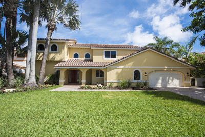Delray Beach Single Family Home For Sale: 915 Hyacinth Drive