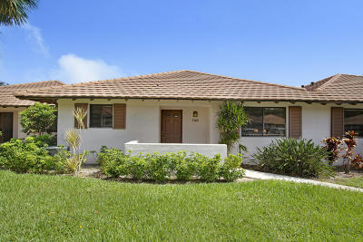 Palm Beach Gardens Single Family Home For Sale: 706 Club Drive