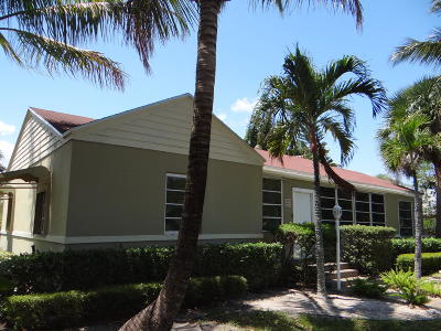 West Palm Beach Single Family Home For Sale: 3201 Poinsettia Avenue