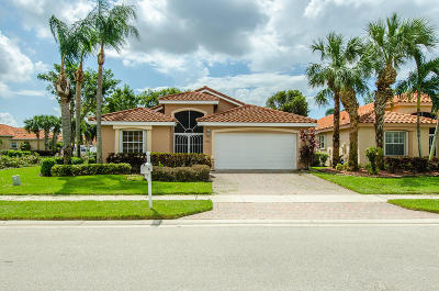 Boynton Beach Single Family Home For Sale: 7736 Trapani Lane