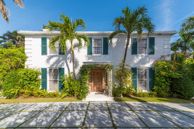 Palm Beach Townhouse For Sale: 207 Pendleton Avenue