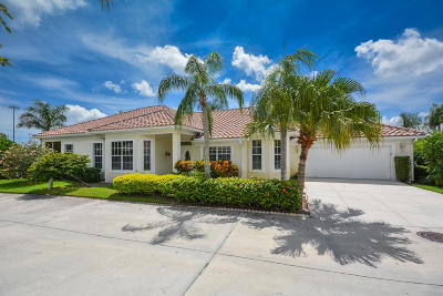 Palm Beach Gardens FL Single Family Home Contingent: $355,000