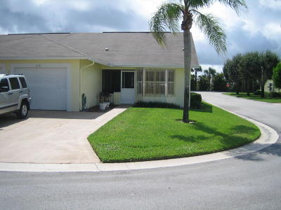Hobe Sound Single Family Home For Sale: 8170 SE Fox Hill Place