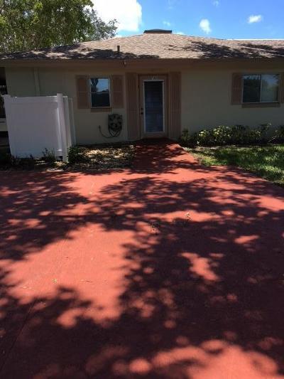 Boca Raton Single Family Home For Sale: 8741 Echo Lane