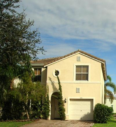 West Palm Beach Single Family Home For Sale: 4101 Winnipeg Way