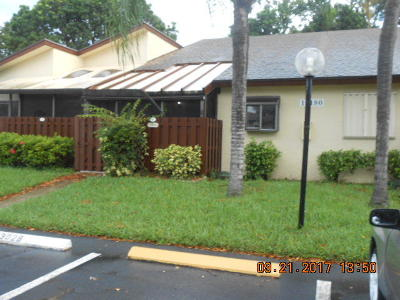 delray beach Single Family Home For Sale: 14180 Nesting Way #B