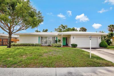 Boca Raton Single Family Home For Sale: 1100 SW 12th Street