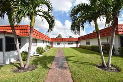Delray Beach Condo For Sale: 16 Waterford A #16