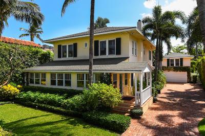 Palm Beach Single Family Home For Sale: 350 Seaspray Avenue