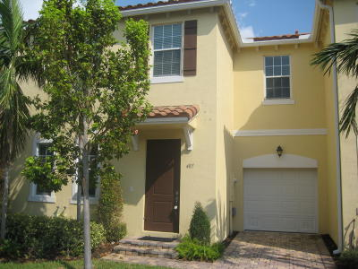 Boynton Beach Rental For Rent: 485 Graham Place