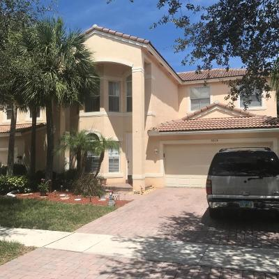Lake Worth Single Family Home For Sale: 5213 Sancerre Circle