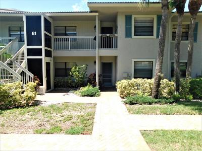 Boynton Beach Rental For Rent: 61 Eastgate Drive #C