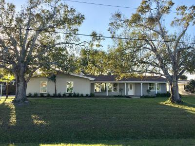 Port Saint Lucie Single Family Home For Sale: 418 NE Oleander Avenue