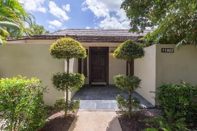 Wellington Single Family Home For Sale: 11802 Wimbledon Circle