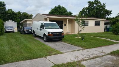 Miami Single Family Home For Sale: 18543 NW 10th Road NW