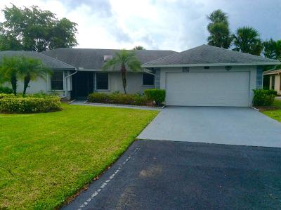 Lake Worth Single Family Home For Sale: 7618 Meed Circle