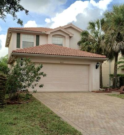 Lake Worth Single Family Home For Sale: 5013 Polaris Cove