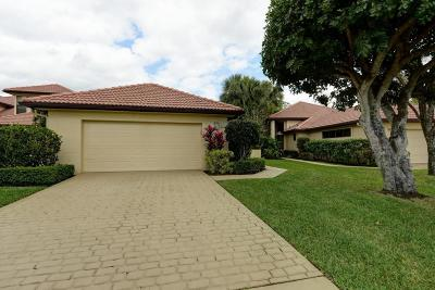 West Palm Beach Single Family Home For Sale: 1140 Sand Drift Way #D