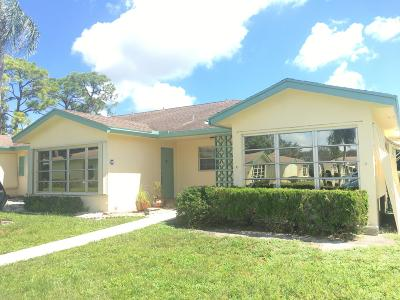 delray beach Single Family Home For Sale: 5037 Lakefront Boulevard #C