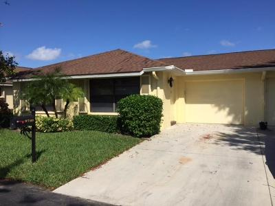 Boynton Beach Rental For Rent: 9740 Pecan Tree Drive #A