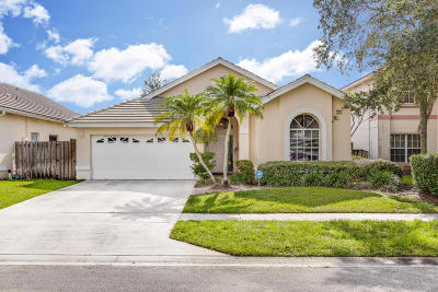 Lake Worth Single Family Home For Sale: 7328 Ashley Shores Circle
