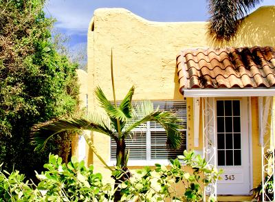 west palm Single Family Home For Sale: 343 Conniston Road