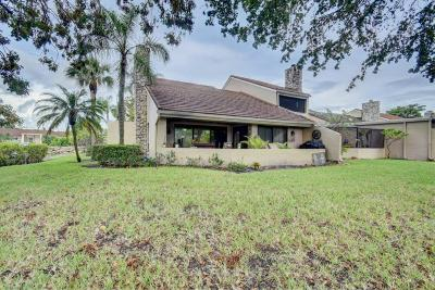 Palm Beach Gardens Single Family Home For Sale: 61 Balfour E