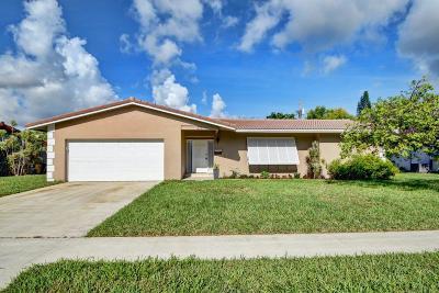 Boca Raton Single Family Home For Sale: 611 NW 16th Avenue