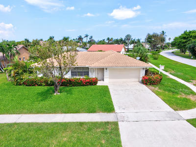 Boca Raton FL Single Family Home For Sale: $415,000