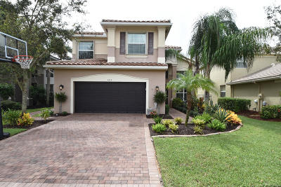 Boynton Beach Single Family Home For Sale: 8213 Emerald Winds Circle