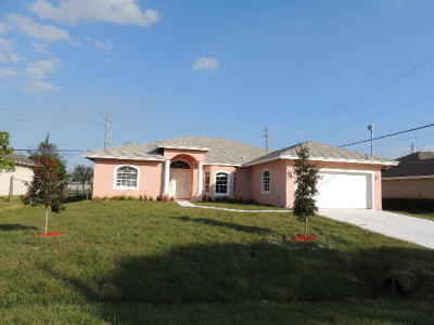 Port Saint Lucie, Saint Lucie West Single Family Home For Sale: 3043 SE Wake Road