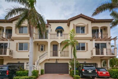 Boynton Beach Rental For Rent: 3030 Waterside Circle
