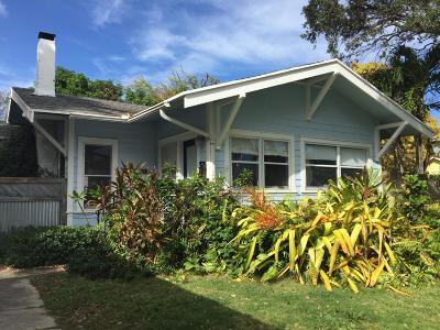 West Palm Beach Single Family Home For Sale: 719 Newark Street