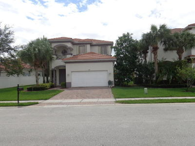 Boynton Beach Single Family Home For Sale: 1072 Grove Park Circle